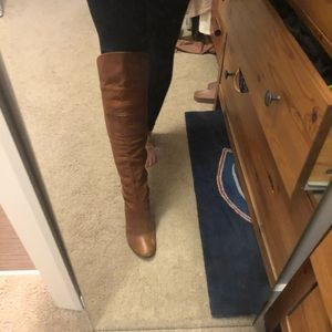 Shoes - Browns over the knee boots